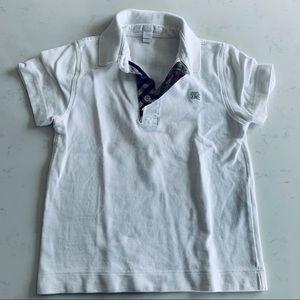 Burberry boys polo shirt